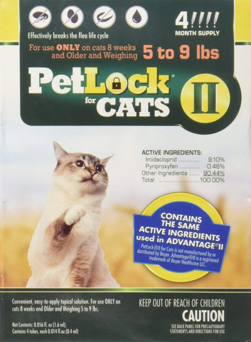 Petlock II for cats over 9 lbs