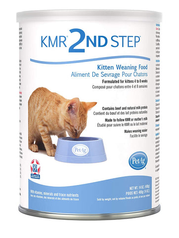 PetAg KMR 2nd Step Kitten Weaning Food 14oz