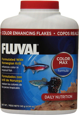 Fluval Hagen 35gm Color Enhancing Flakes Fish Food