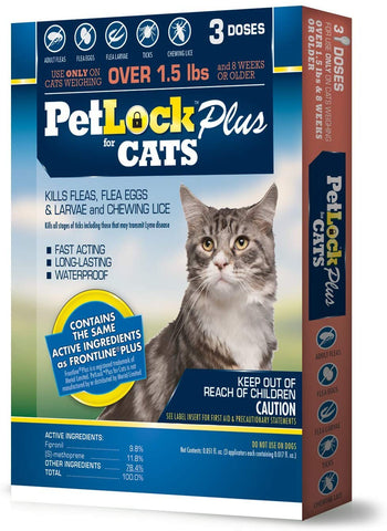 Flea/Tick F/Cat 1.5lb+