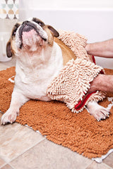 Soggy Doggy Super Shammy Absorbent Quick Drying Machine Washable Hand Pocket Clean Dog Towel