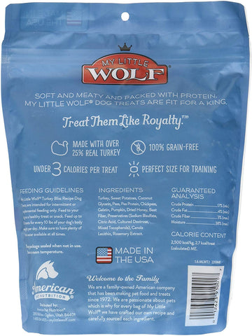 Waggers 012623910017 My Little Wolf Turkey 16 Oz Dry Pet Food, One Size