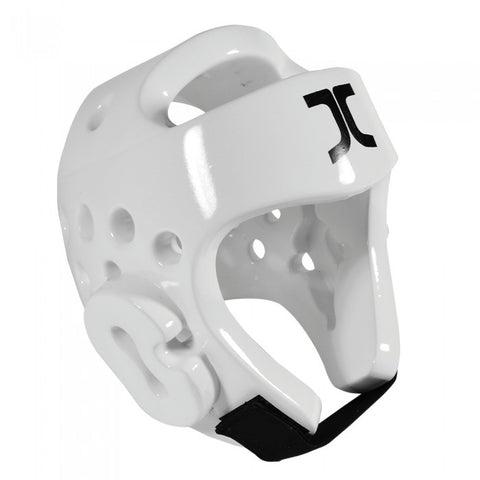 JC CLUB HEAD PROTECTOR - WHITE - WT Approved
