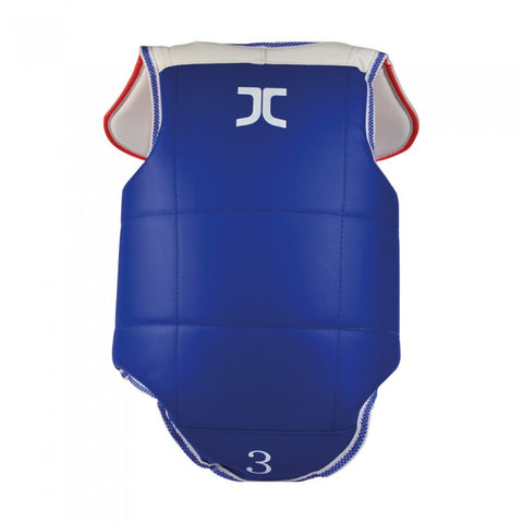 JC CLUB REVERSIBLE CHEST PROTECTOR - WT Approved
