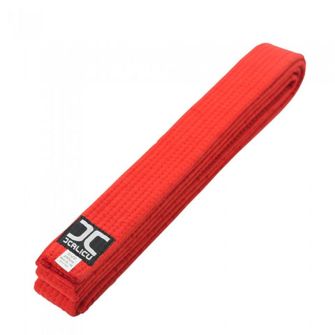 JC Plain Red Belt