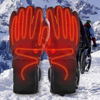 Electric Heated Bike Gloves - Pedal the Metal