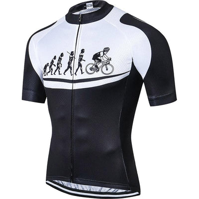 Men's Cycling Evolution Jersey - Pedal the Metal