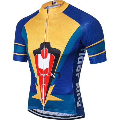 Men's Cycling King Jersey - Pedal the Metal