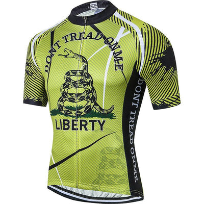 Men's Liberty Cycling Jersey - Pedal the Metal
