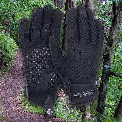 Outdoor Designs Diablo Softshell Bike Gloves - Pedal the Metal