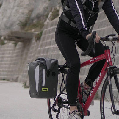OverBoard VeloDry Waterproof Pannier Bike Bag - Pedal the Metal