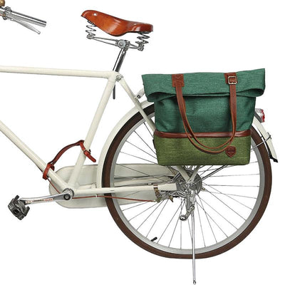 Retro Insulated Water Repellent Pannier/Shoulder Bag - Pedal the Metal