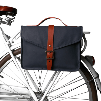 Retro Water Repellent Canvas Pannier Bag - Pedal the Metal