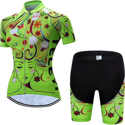 Teleyi Woman's Flow Cycling Kit - Pedal the Metal
