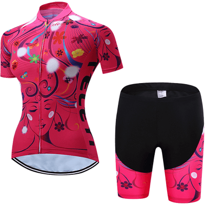 Teleyi Woman's Life Cycling Kit - Pedal the Metal