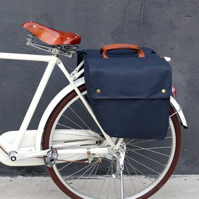 Vintage Waterproof 23L Dual Pannier - Pedal the Metal