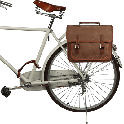 Vintage Canvas Pannier Messenger Laptop Bag - Pedal the Metal