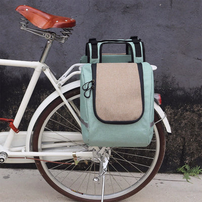 Vintage Insulated Pannier Bag - Pedal the Metal