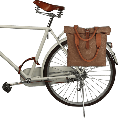 Vintage Pannier Canvas Bag - Pedal the Metal