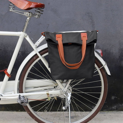 Vintage Water Repellent Pannier Bags - Pedal the Metal