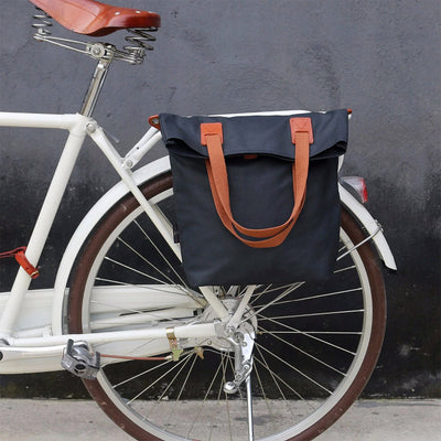 Vintage Waterproof Canvas Pannier Bag - Pedal the Metal