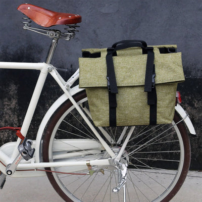 Vintage Waterproof Pannier - Pedal the Metal