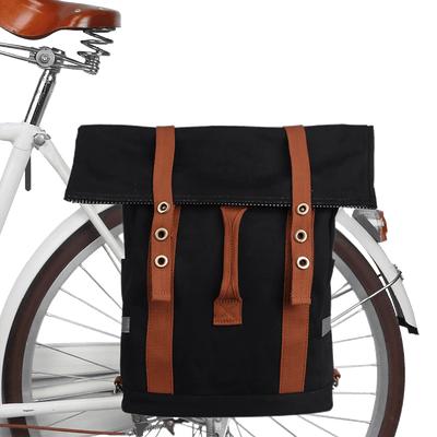 Vintage Waterproof Pannier/Backpack Bag - Pedal the Metal