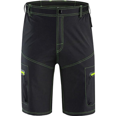 Water Repellent Mountain Bike Shorts with Chamois Undershorts - Pedal the Metal