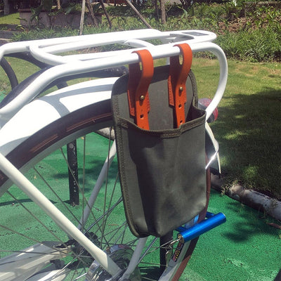 Waterproof Canvas Pannier Bag - Pedal the Metal