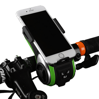 Smart Bluetooth Powerbank Phone Holder - Pedal the Metal