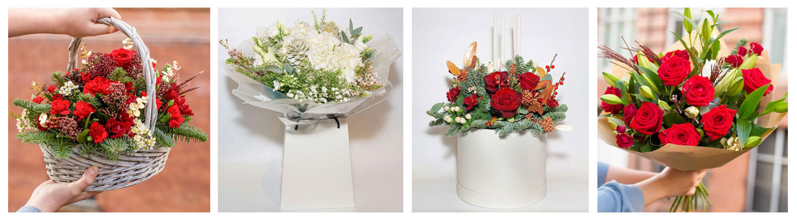 Go Dutch Cork | Christmas Flowers | Flower Delivery Cork