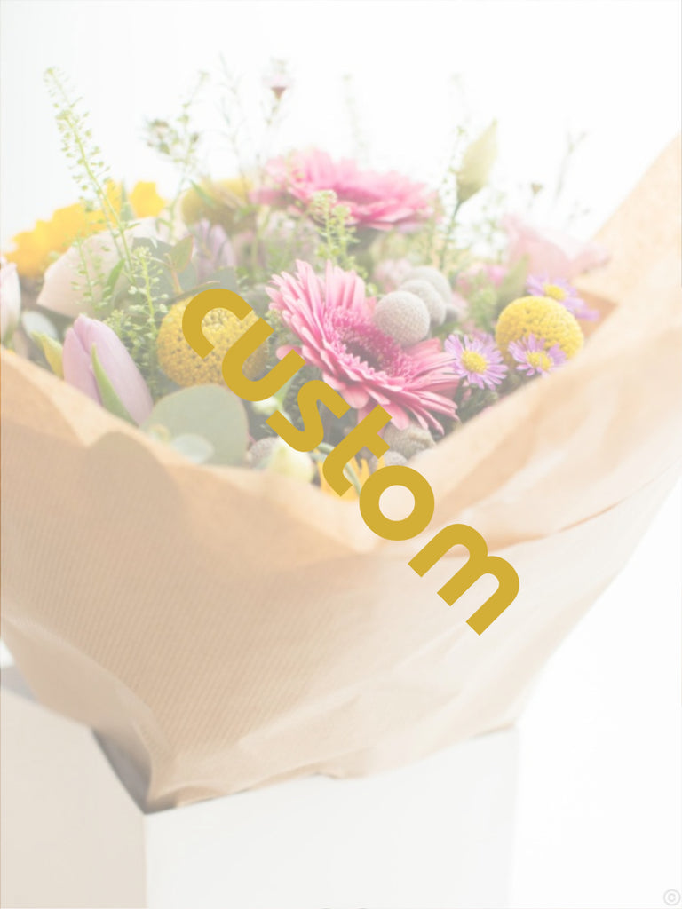 Custom Flowers by Go Dutch Flowers Cork (€70)