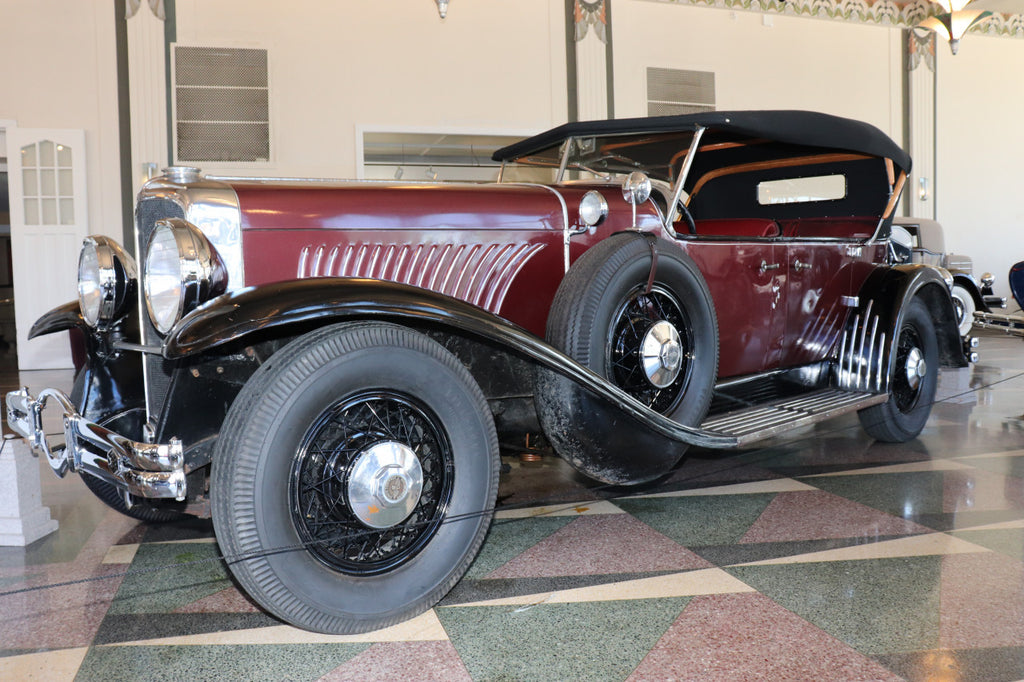 MUSEUM RECEIVES RARE 1927 DUESENBERG PROTOTYPE LOAN