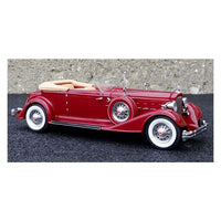 1934 Packard Twelve Red Limited Edition Model 1:43