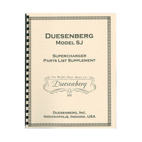 DUESENBERG ARCHIVAL LITERATURE as low as