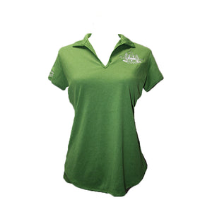 Ladies Cord Green Polo
