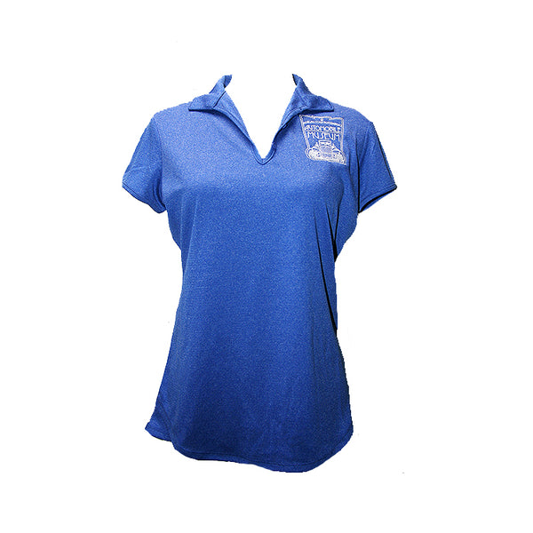 Ladies Museum Blue Polo