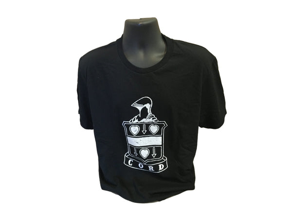 Cord Logo Black T-Shirt