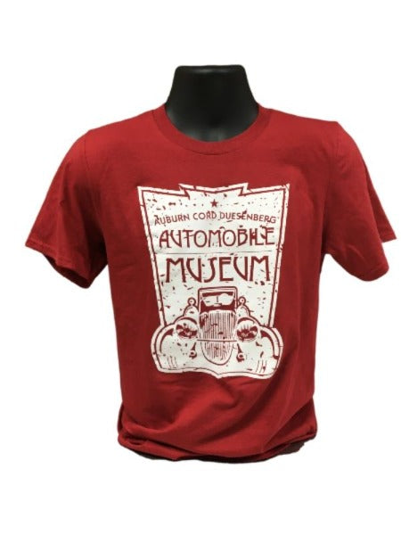 Museum Logo Red T-Shirt