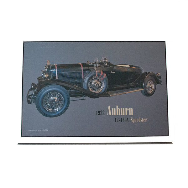 1932 Auburn 12-160A Boattail Speedster Canvas Print