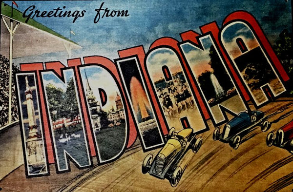 Greetings from INDIANA circa 1946