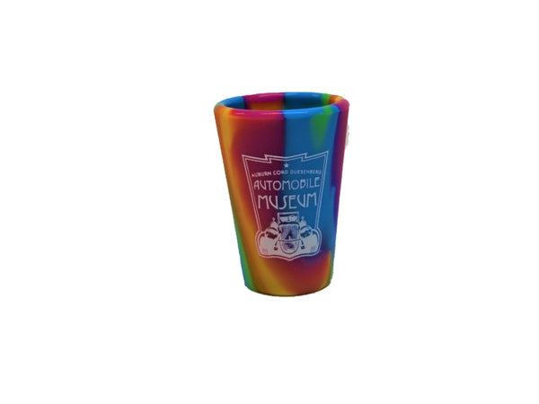 Silipint Tie-Dye Glasses with Museum Logo