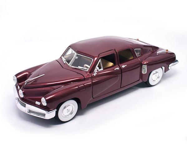 1948 Tucker Torpedo Model 1:18 - Burgandy