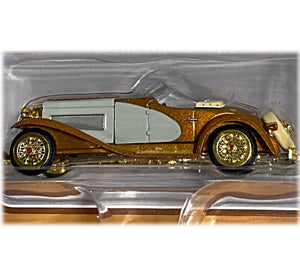 1935 Duesenberg SSJ Speedster 1:64 GOLD CHASE limited edition  FREE SHIPPING