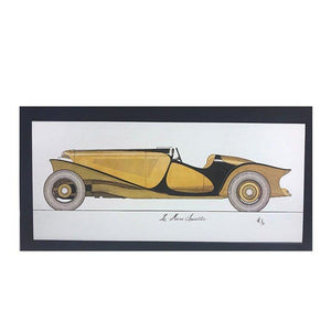 Alan Leamy Exhibit LeMans Speedster Print
