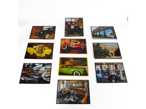 Cars of the Museum 10 pack notecards