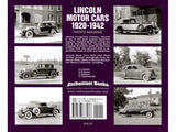 Lincoln Motor Cars 1920 - 1942 Photo Archive