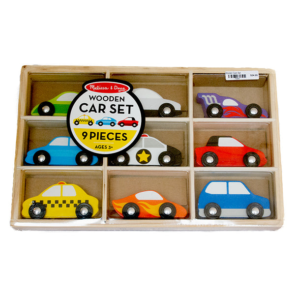 Wooden Cars Set - Melissa & Doug