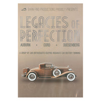 Legacies of Perfection DVD