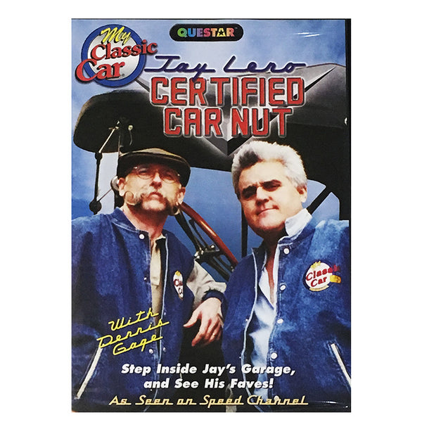 Jay Leno Certified Car Nut DVD